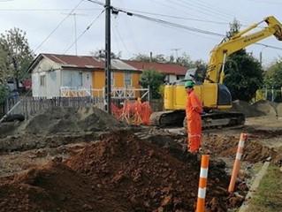 Alcalde Pinuer llegó a acuerdo con Essal para dar solución a problema de calle Padre Hurtado