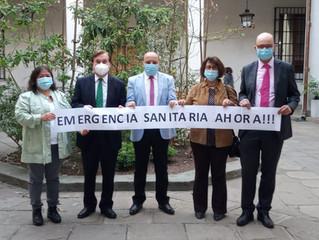 Reunión de alcalde y Ministro del Interior entregó positivos resultados para A. Campesina