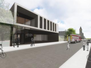 Ya se encuentra abierta licitación para la construcción del primer Cuartel General de Bomberos de la
