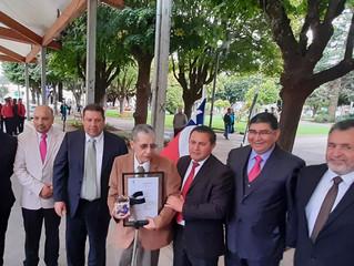 En ceremonia Aniversario de la comuna, se designó a cinco Ciudadanos Destacados y a un Hijo Ilustre