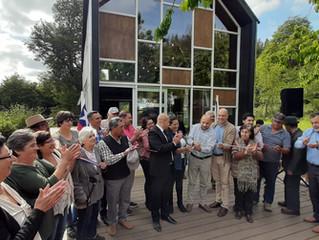 Sede de Cumuleufu se inauguró la tarde de ayer y se proyecta hacia el turismo