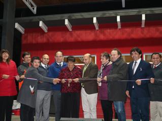Con música y alegría, ayer se inauguró Casa de la Cultura y Anfiteatro en sector Corvi