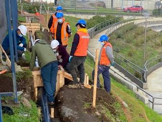 Avances de dos proyectos para la comuna presentan importantes progresos
