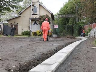 Debido a obras de Sede Social Indígena, acceso a Parque Municipal cerrará durante dos semanas