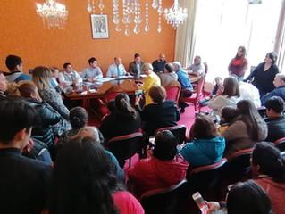 Alcalde manifestó su satisfacción ante rápida solución de problema que afectaba a comité de vivienda