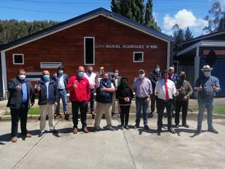 Autoridades y vecinos participaron de inauguración de nueva sede social