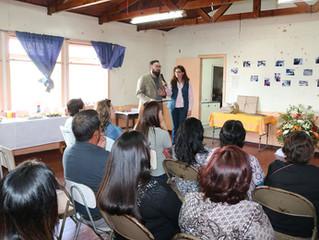 SENDA Previene La Unión realiza ceremonia de cierre del trabajo preventivo en sector santa Mónica.