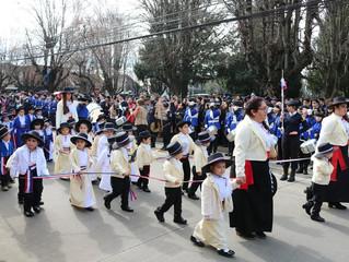 Gran cantidad de estudiantes participó en Desfile de Fiestas Patrias 2019