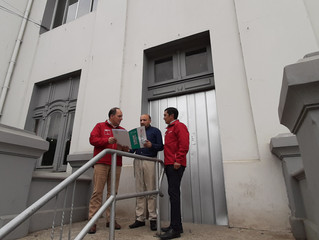 Municipio se adjudica 60 Millones de pesos para modernizar y recuperar infraestructura destruida de