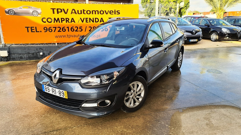 RENAULT MEGANE 1.5DCI 110HP S/S ECO2 ENERGY LIMITED