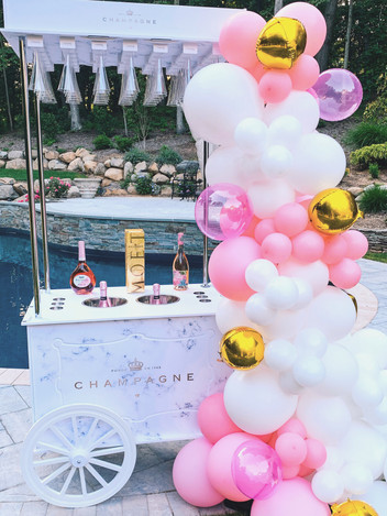 Champagne Cart Rental