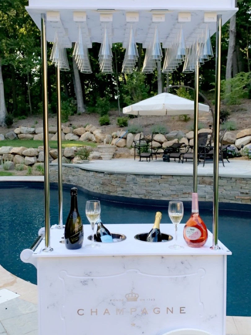 Champagne Cart Rental