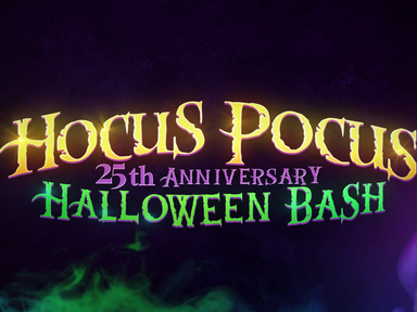Hocus Pocus Halloween Bash