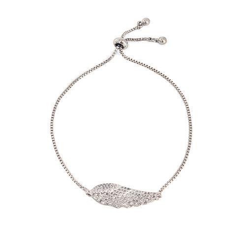 'Angel Wing' Platinum Plated Bracelet