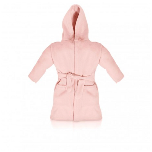 Pink Embroidered Dressing Gown
