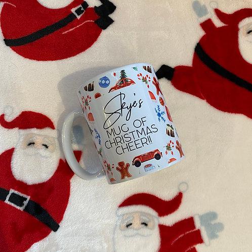 Personalised Mug of Christmas Cheer