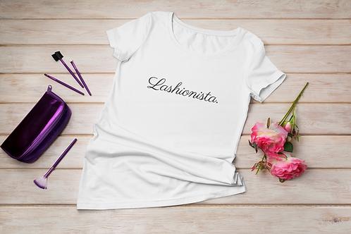 Lashionista Slogan T-Shirt