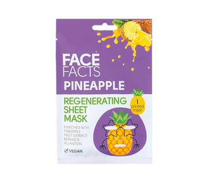 Pineapple Sheet Face Mask