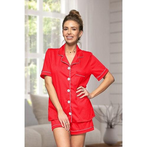 Red Cotton Hannah Pyjamas
