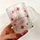 Thumbnail: Primrose and Honeysuckle Wreath Personalised Mug