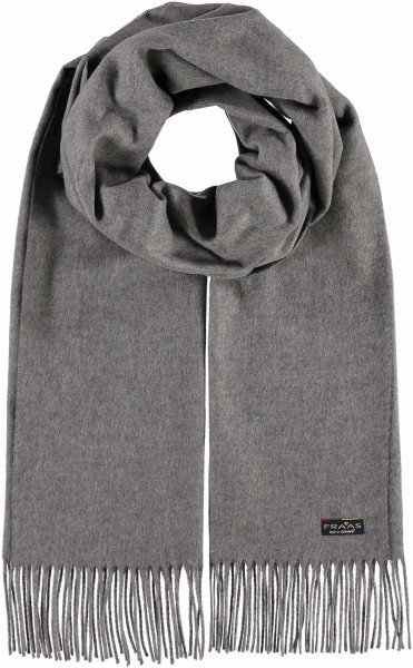 Grey Wide Scarf