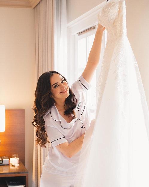White Rachel Pyjamas