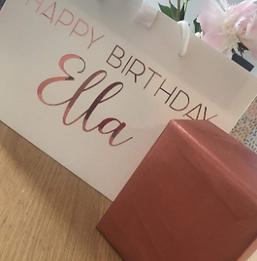 Birthday Gift Bag/Box