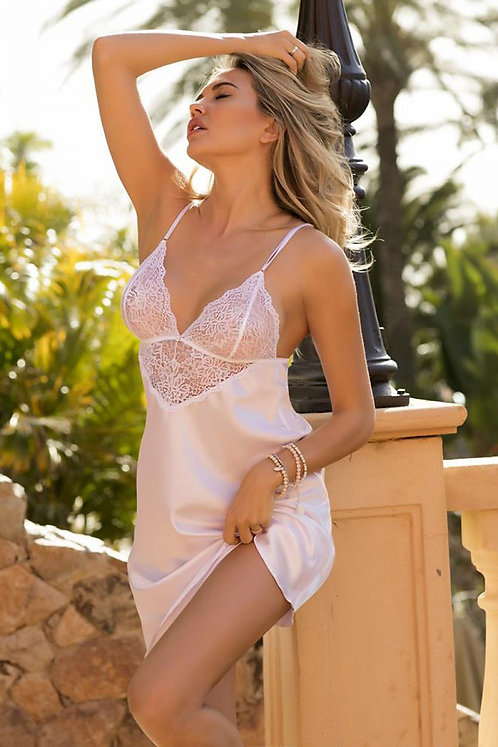 White Colleen Nightie