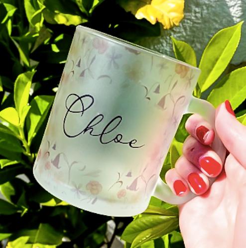 Wildflower Print Personalised Mug