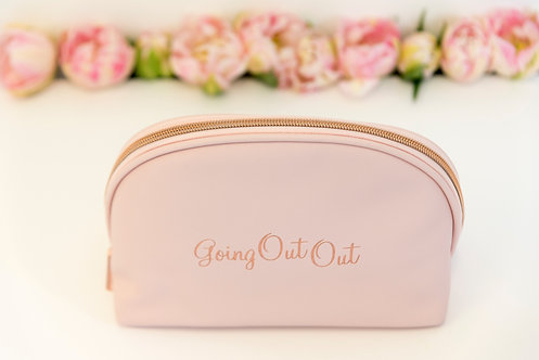 Going Out Out Large Makeup Bag