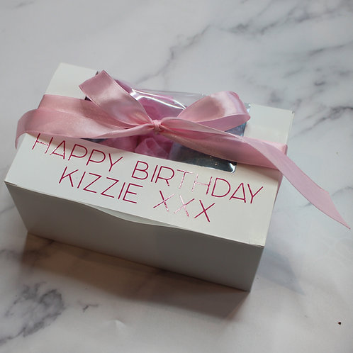 Bath Bomb Gift Box with Personalisation