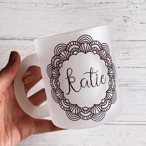 Mandala Personalised Mug