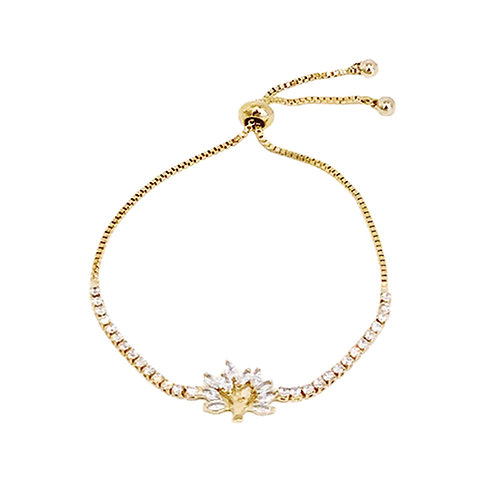 'Family Tree' Gold Plated Bracelet