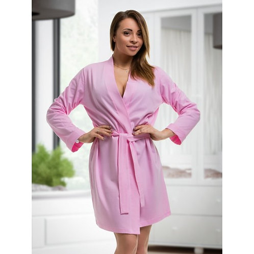 Pink Cotton Katie Robe