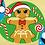 Thumbnail: Gingerbread Sheet Face Mask