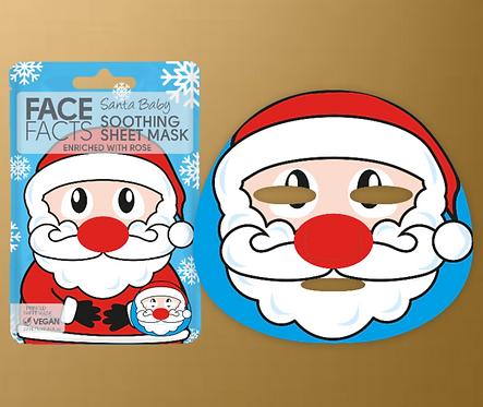 Santa Baby Sheet Face Mask