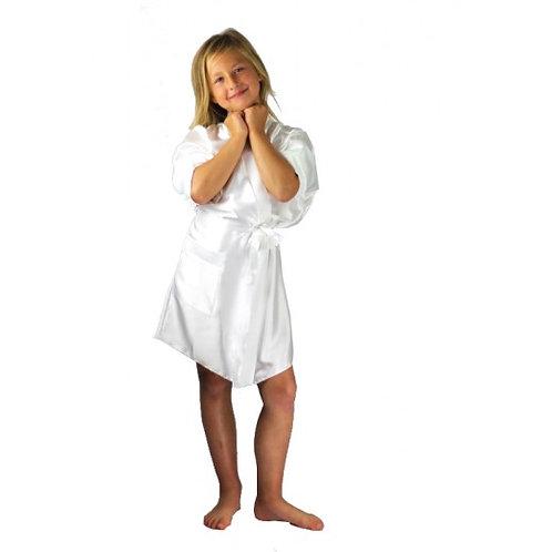White Children's Zoe Gown