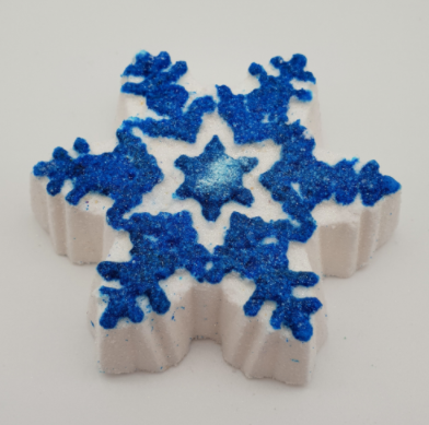Snowflake Bath Bomb