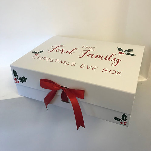 Family of Four Christmas Eve Box