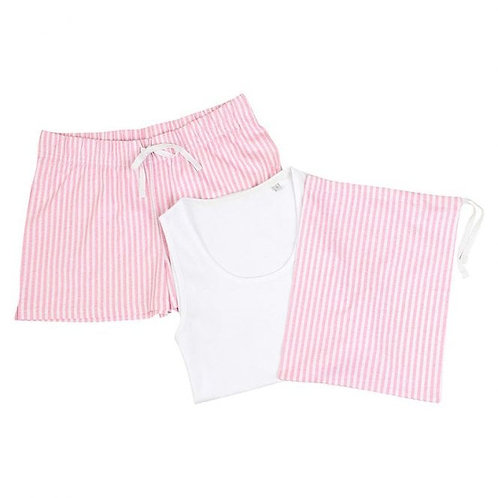 Pink Jessica Pyjamas in Bag