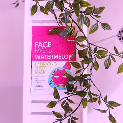 Watermelon Sheet Face Mask