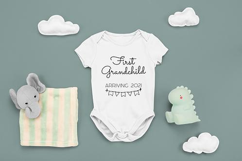 Grandparent Announcement Baby Grow
