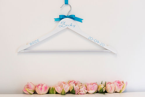 Personalised Adult Coat Hanger