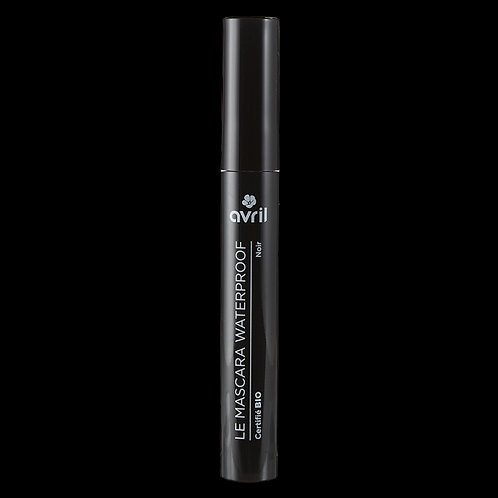 Mascara Waterproof Noir Certifié bio AVRIL