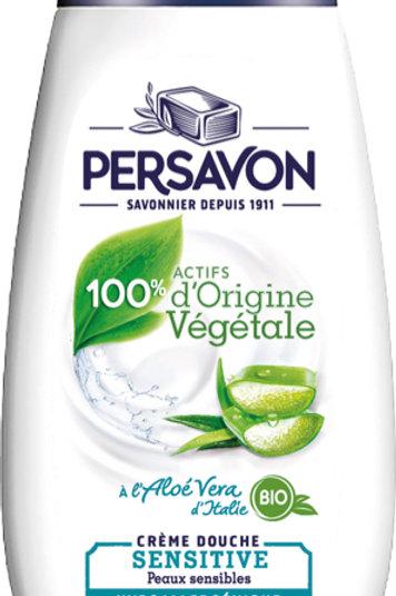 2 Crème Douche Sensitive Aloé Vera de  Persavon