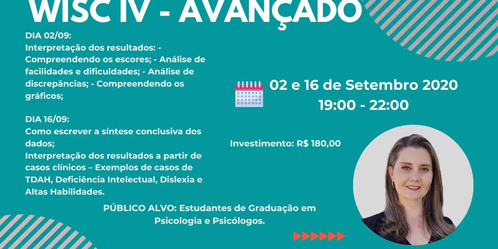Curso WISC IV - AVANÇADO