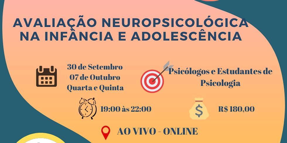 Curso Avaliação Neuropsicológica na Infância e Adolescência