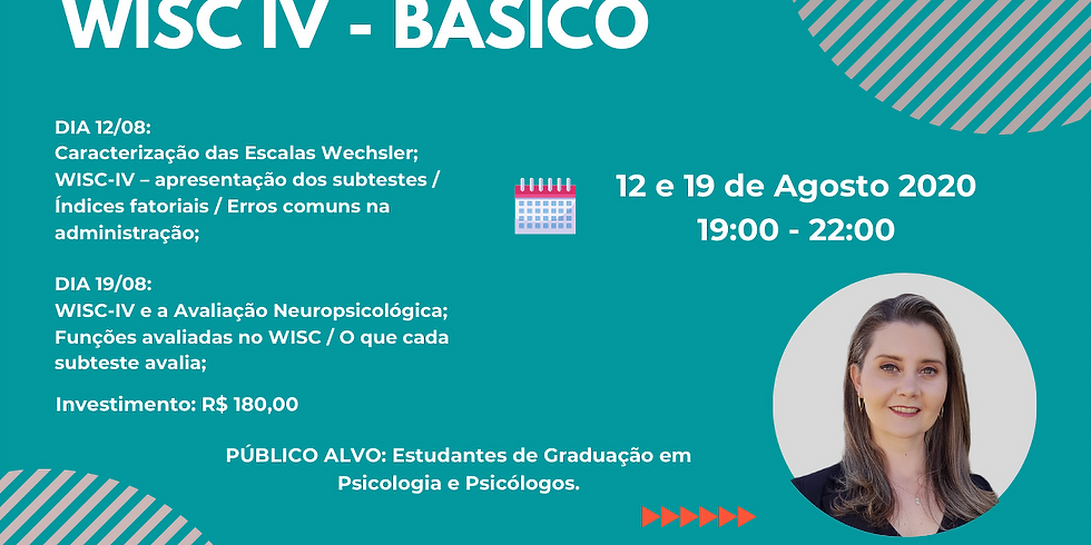 Curso WISC IV - Básico