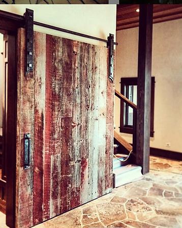 Barn door hardware, 2015