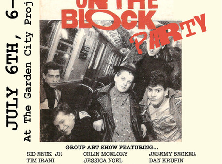 New Kids on the Block Group Art Show